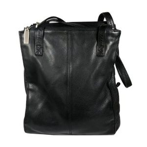 HOBO International Black Leather Shoulder Purse